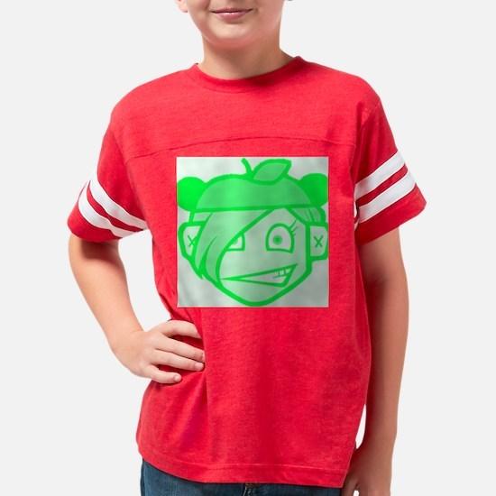 applehatGRN Youth Football Shirt