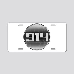 914 Cars Aluminum License Plate