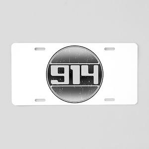 914 Cars Aluminum License Plate