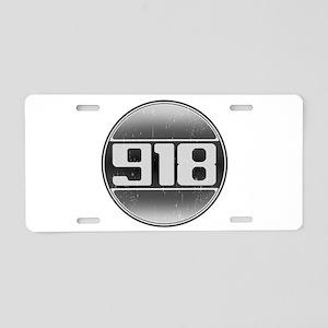 918 Cars Aluminum License Plate