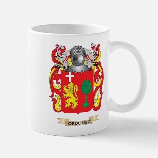 Ordonez Coat of Arms (Family Crest) Mugs