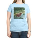 Paddle Faster Women's Pink T-Shirt