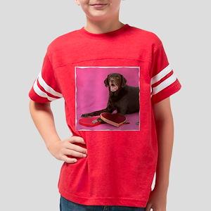 mooseValentinePillow Youth Football Shirt
