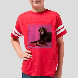 mooseValentineSquare Youth Football Shirt