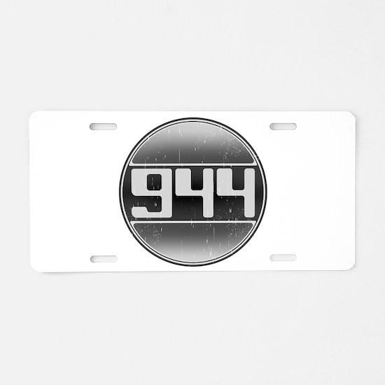 944 Cars Aluminum License Plate