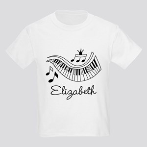 Piano Music Lover Personalized T-Shirt