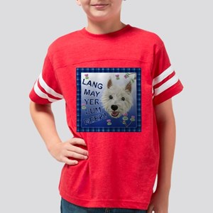 Westie Wit Youth Football Shirt