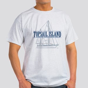 Topsail Island - Light T-Shirt