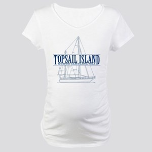 Topsail Island - Maternity T-Shirt