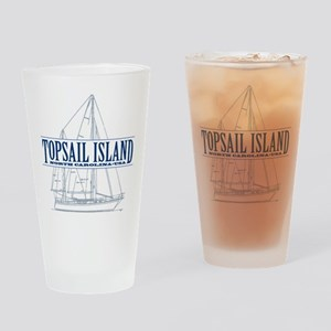 Topsail Island - Drinking Glass