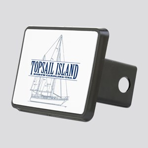 Topsail Island - Rectangular Hitch Cover