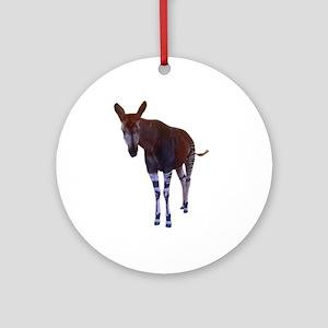 okapi 3 Ornament (Round)