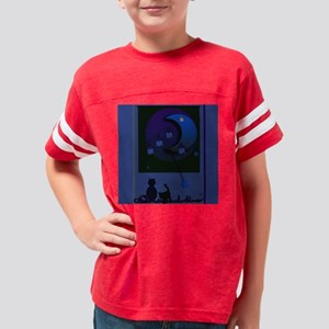 May night for square stuffs Youth Football Shirt