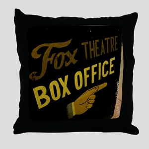 Box Office This Way Throw Pillow
