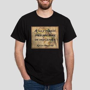 A Wily Person - Kikiyu Proverb T-Shirt