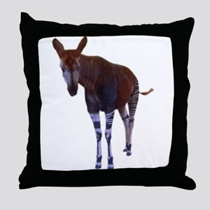okapi 3 Throw Pillow