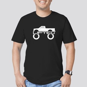 Lifted Pickup Truck Men's Fitted T-Shirt (dark)