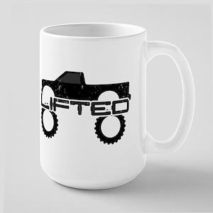 Lifted Pickup Truck Large Mug