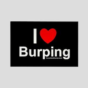 Burping Rectangle Magnet
