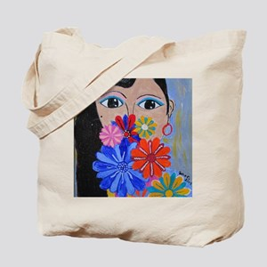 Smell the Flowers Tote Bag