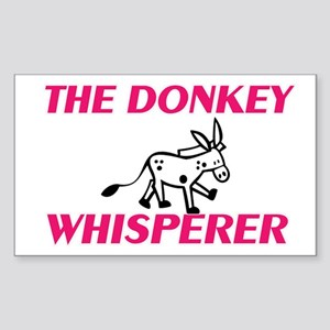 The Donkey Whisperer Sticker
