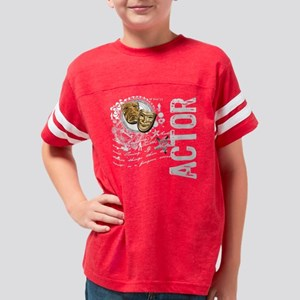 actor1-dark Youth Football Shirt