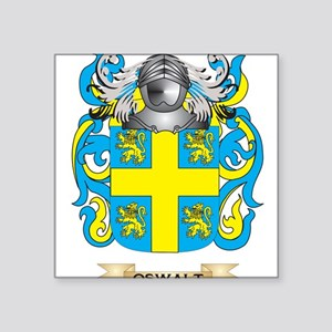 Oswalt Coat of Arms (Family Crest) Sticker