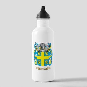 Oswalt Coat of Arms (Family Crest) Water Bottle