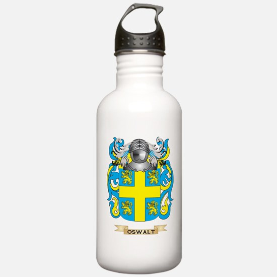 Oswalt Coat of Arms (Family Crest) Water Bottle