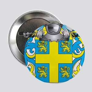 """Oswalt Coat of Arms (Family Crest) 2.25"""" Button"""