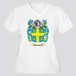 Oswalt Coat of Arms (Family Crest) Plus Size T-Shi
