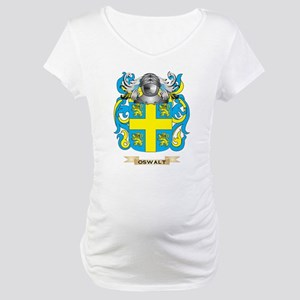 Oswalt Coat of Arms (Family Crest) Maternity T-Shi