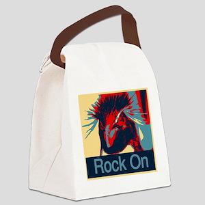 Rock on Rockhopper Canvas Lunch Bag