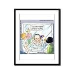 Ted Cruz Born In...America? Framed Panel Print