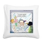 Ted Cruz Born In...America? Square Canvas Pillow