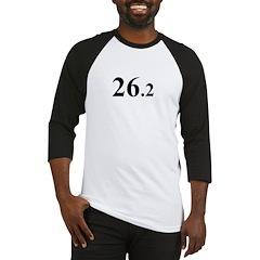 Black 26.2 Baseball Jersey