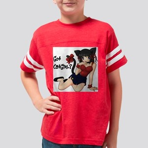 gotcatgirl Youth Football Shirt