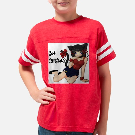 gotcatgirl Youth Football Shirt