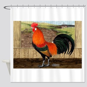 Hen House Hero Shower Curtain
