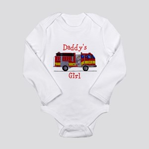 Daddy's Girl Fireman Body Suit