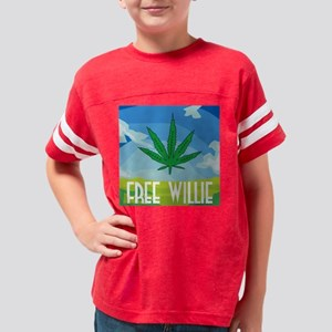 free_willie Youth Football Shirt
