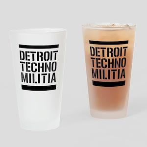 Detroit Techno Militia Beer Glass