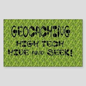 Geocache Sticker (Rectangle)