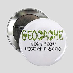 """Geocache 2.25"""" Button"""