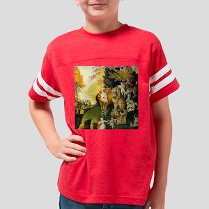 _Hicks_ PeaceableKingdomSQ2 Youth Football Shirt