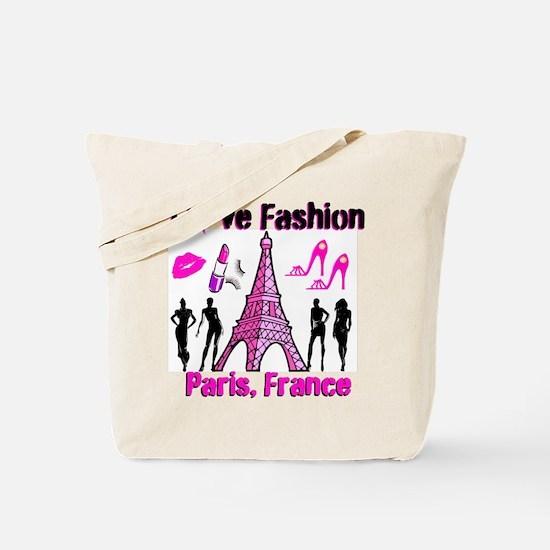 FRENCH FASHION Tote Bag