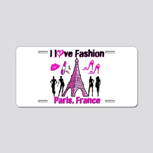 FRENCH FASHION Aluminum License Plate