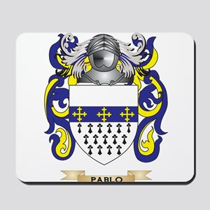 Pablo Coat of Arms (Family Crest) Mousepad