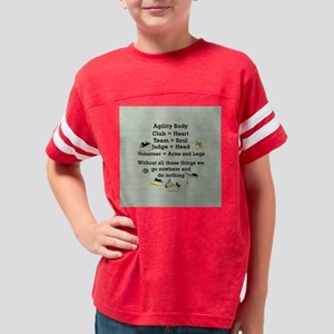 AgilityBodyTile Youth Football Shirt