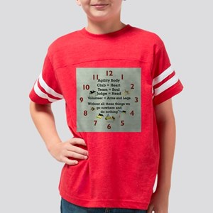 AgilityBodyClock Youth Football Shirt